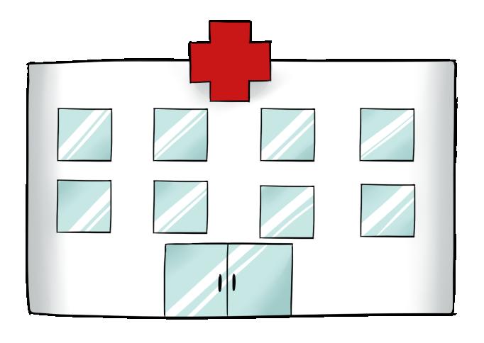 Hospital clipart 7