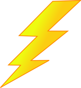 Lightning bolt clipart free clipart images