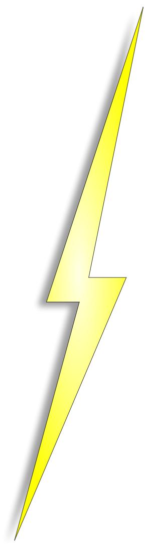 Lightning bolt free lightning clipart public domain lightning clip art images 2