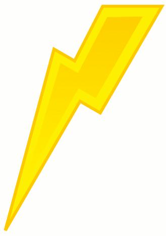 Lightning bolt free lightning clipart public domain lightning clip art images 3