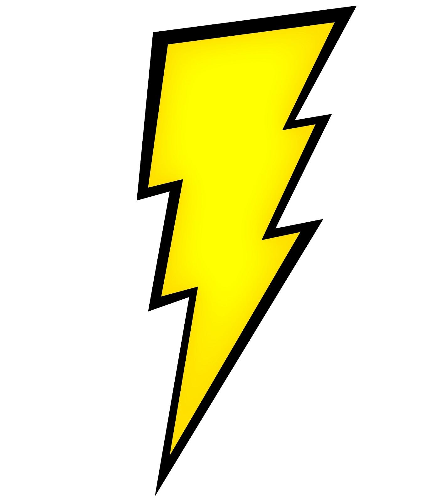 Lightning bolt images clipart