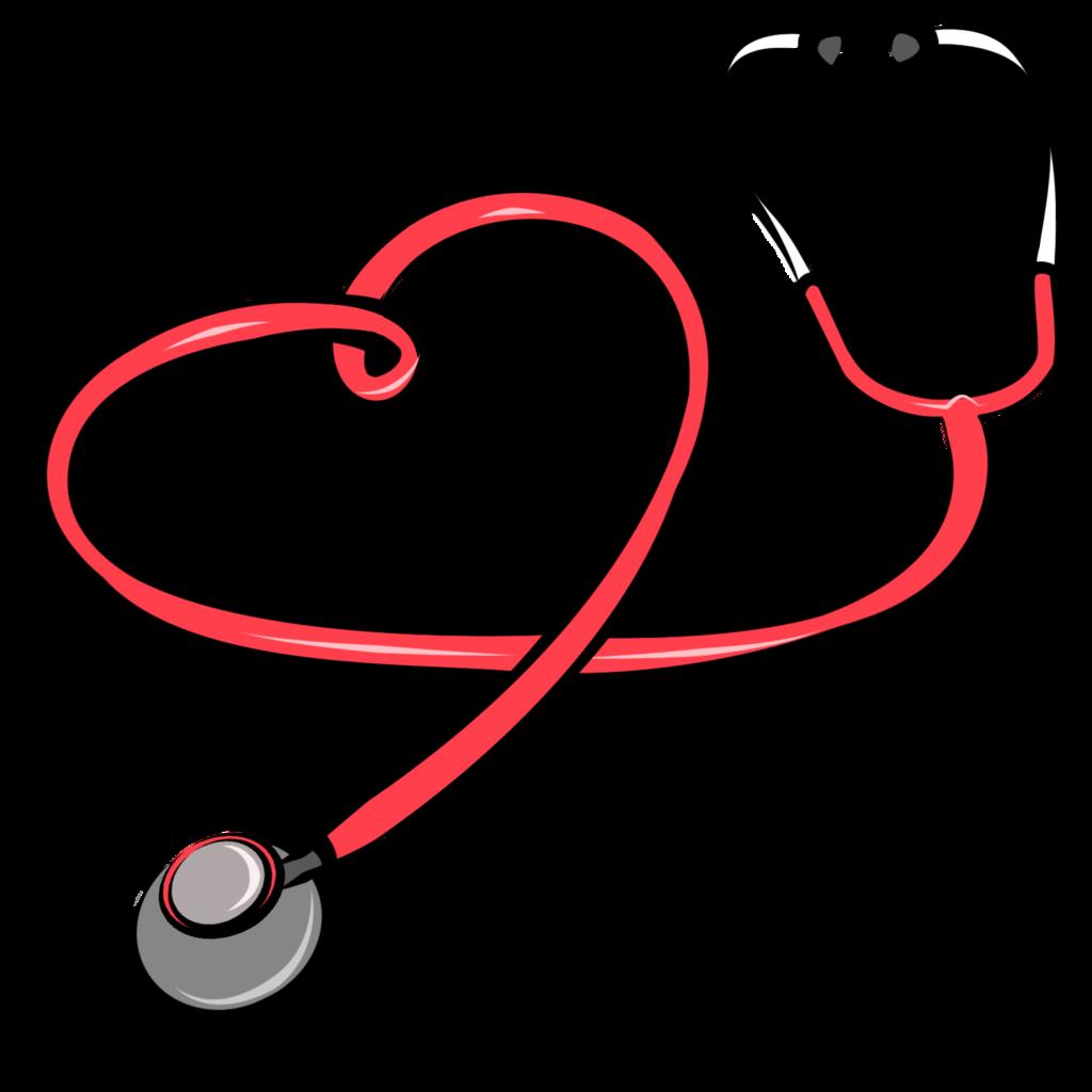 Stethoscope hospital  clip art