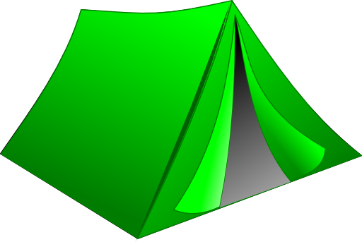 Tent clipart 0