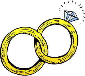 Wedding ring clip art pictures free clipart images