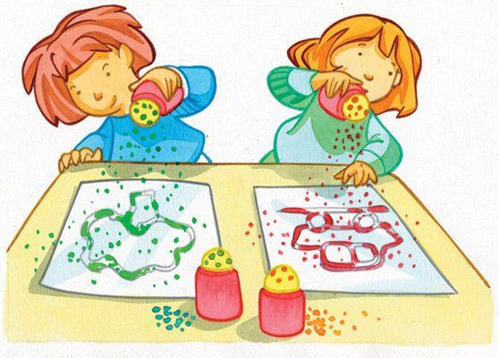 Kleuterclipart preschool clipart imatges cartells aula