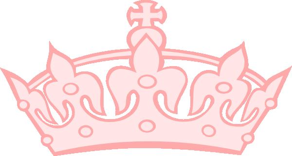 Pink tiara clip art