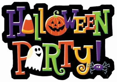 Preschool halloween clip art border black image #16349