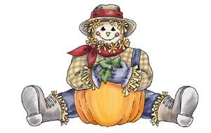 Scarecrow clip art 2