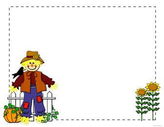 Scarecrow clip art 3