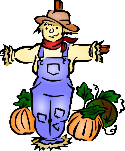 Scarecrow clip art at vector clip art