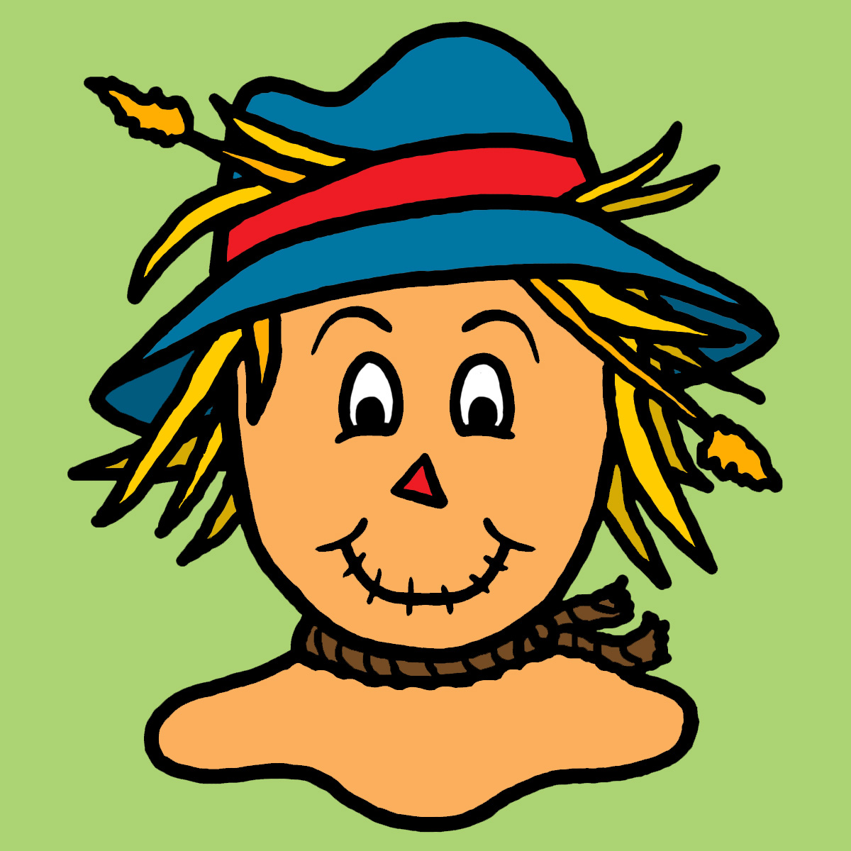 Scarecrow clip art free clipart images