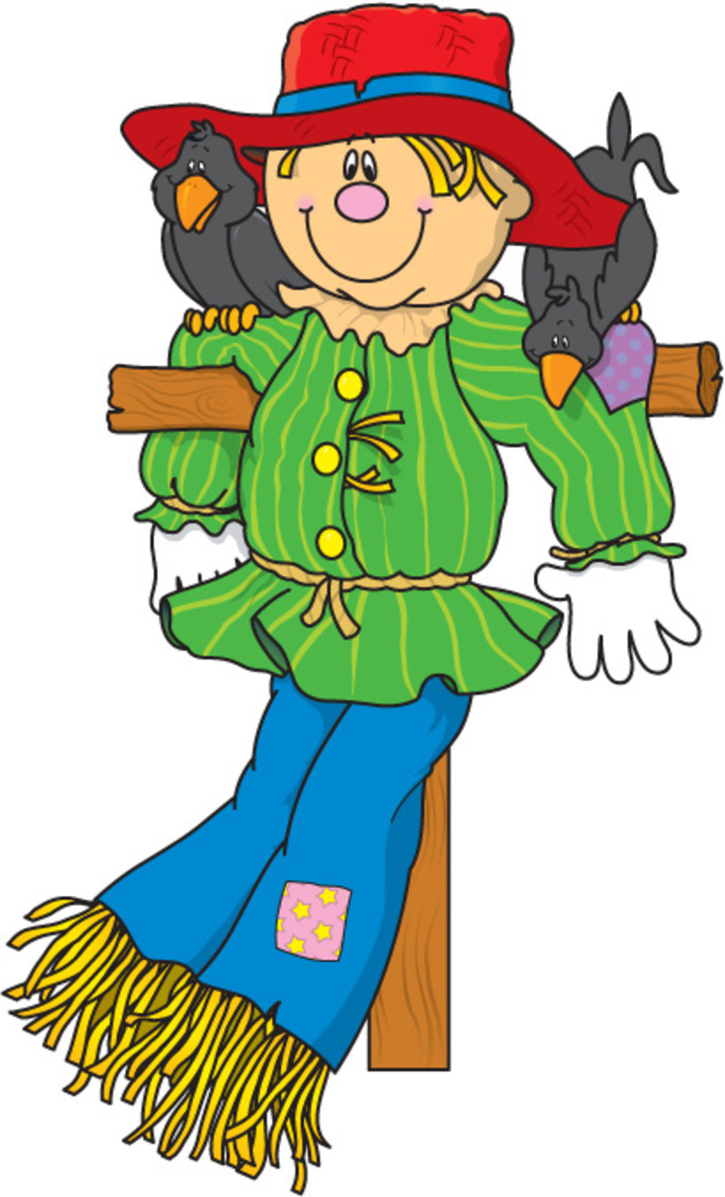 Scarecrow clip art picture free clipart images 2