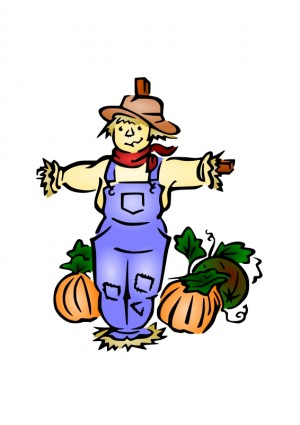 Scarecrow scare clip art download