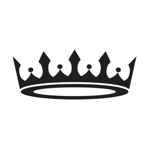 Tiara stencil premium prince princess crown clipart clipart