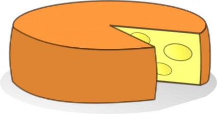 Cheese clip art free vector in open office drawing svg svg