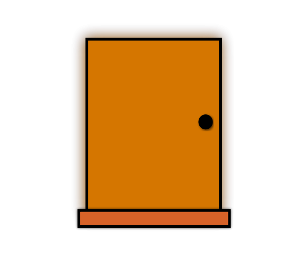 Classroom door clipart images