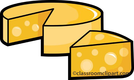 Dairy clipart round cheese 6 classroom clipart