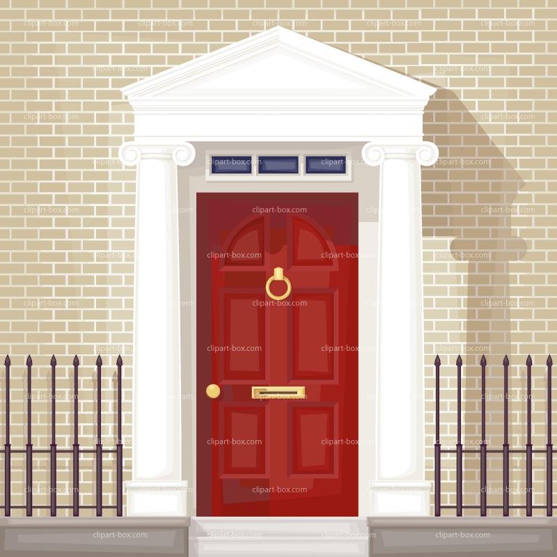 Door clipart 6