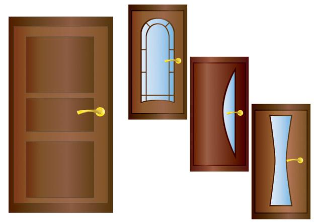 Door security door vector free vector clip art