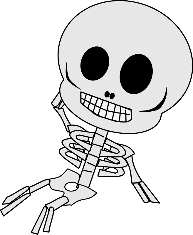 Finest collection of free to use skeleton clip art