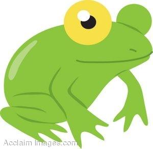 Frog door clipart