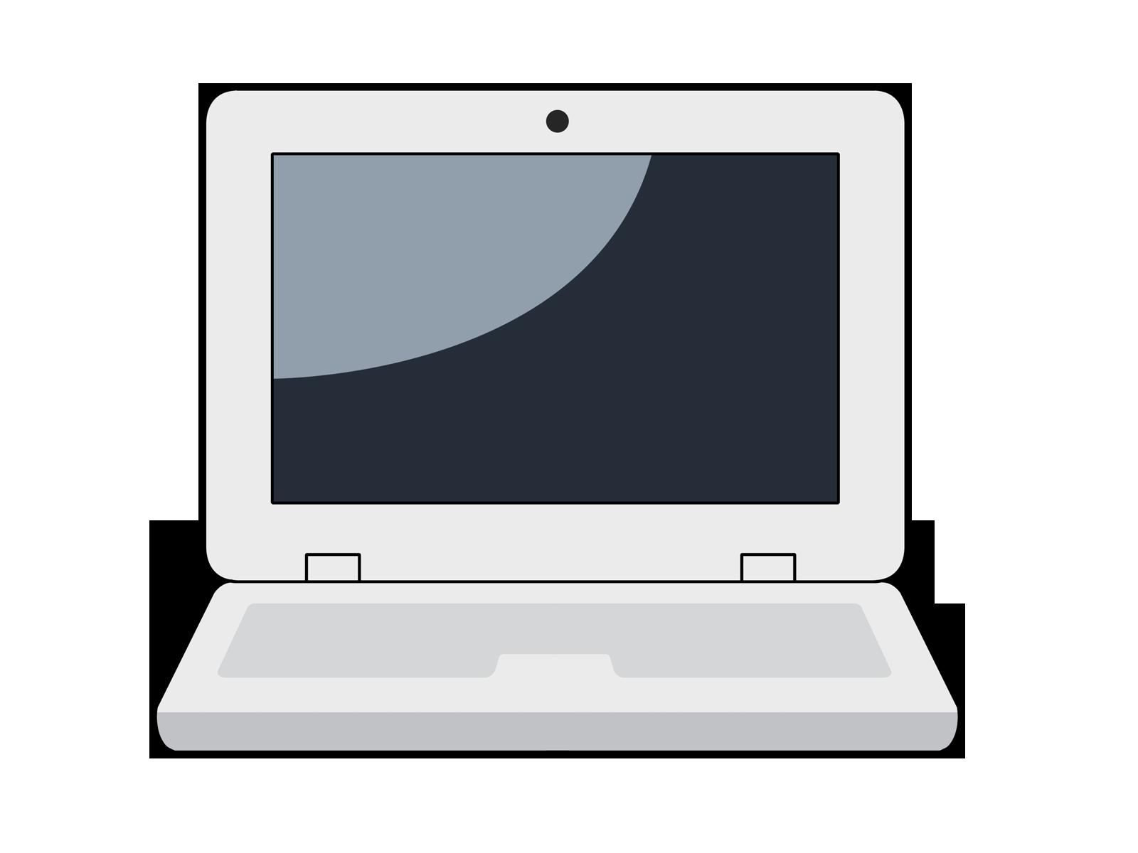 Laptop clip art  2