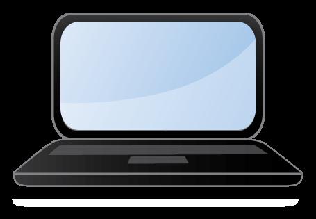 Laptop clip art free clipart images
