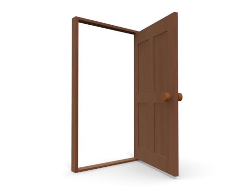 Open door clipart free clipart images