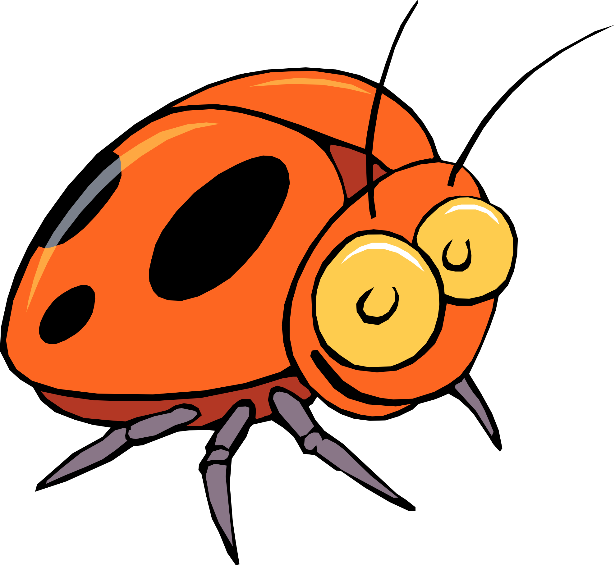 Bug insect clip art free clipart