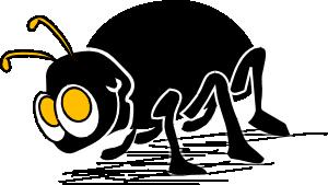 Cartoon bug insect clip art at vector clip art