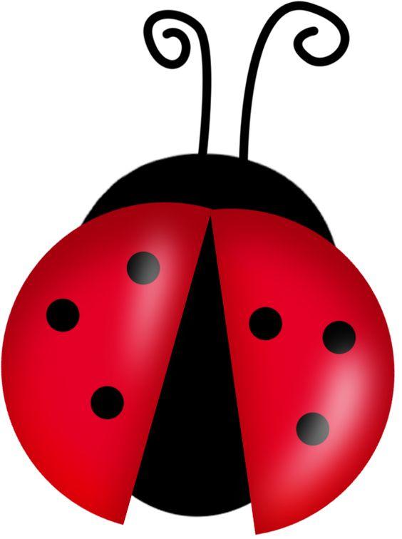 Lady bug garden flower party on lady bug ladybugs clipart
