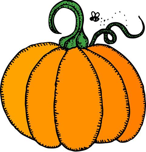 October clip art clipart 3