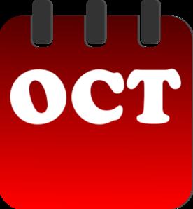 October free clip art clipart