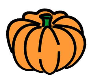 October pumpkin clip art