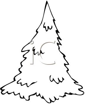 Pine tree clip art 3