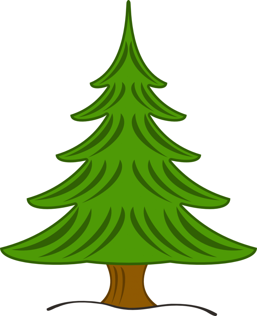 Pine tree clipart free clipart images