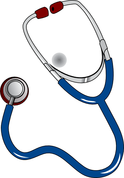 Stethoscope clip art at vector clip art