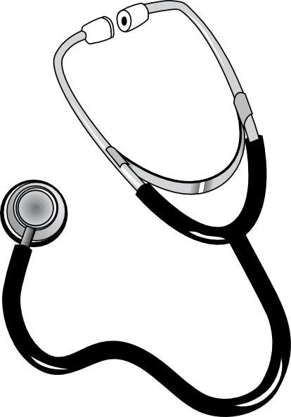 Stethoscope clipart free clipart images
