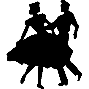 Clip art people dancing clipart image #17496
