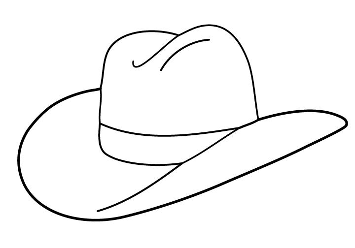 Cowboy hat clip art free clipart images