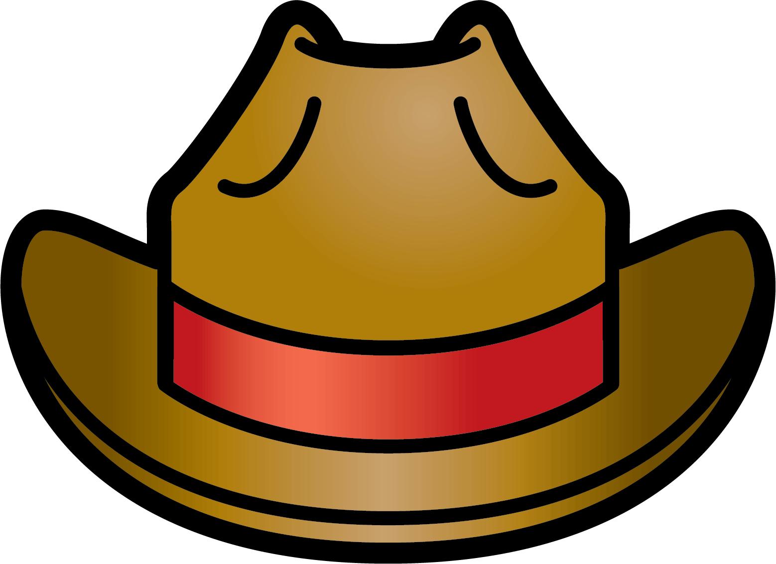 Cowboy hat clipart 3