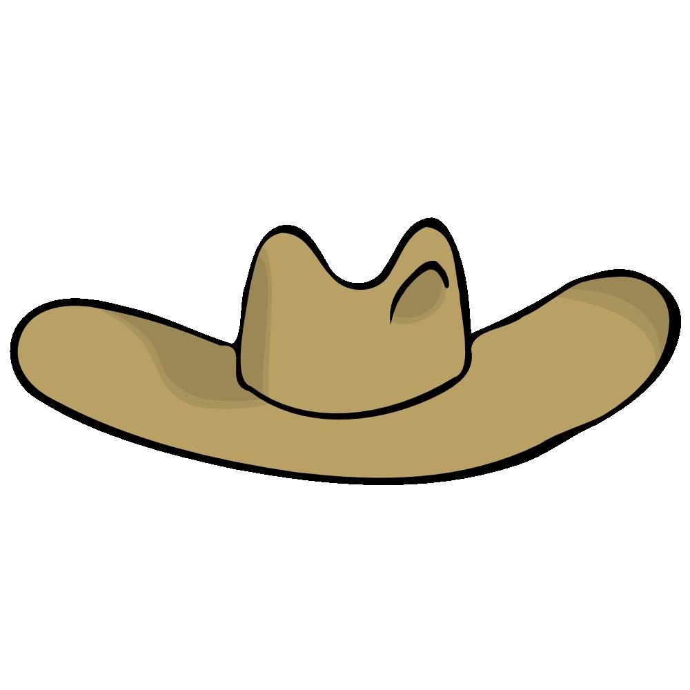 Cowboy hat clipart 4