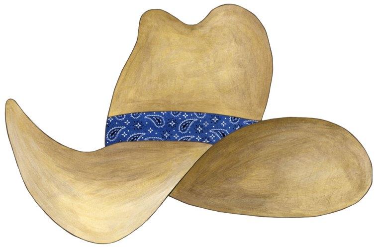 Cowboy hat clipart 6