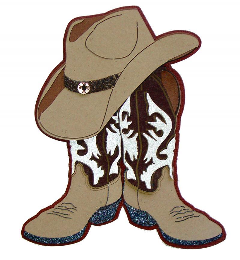 Cowboy hat clipart 8