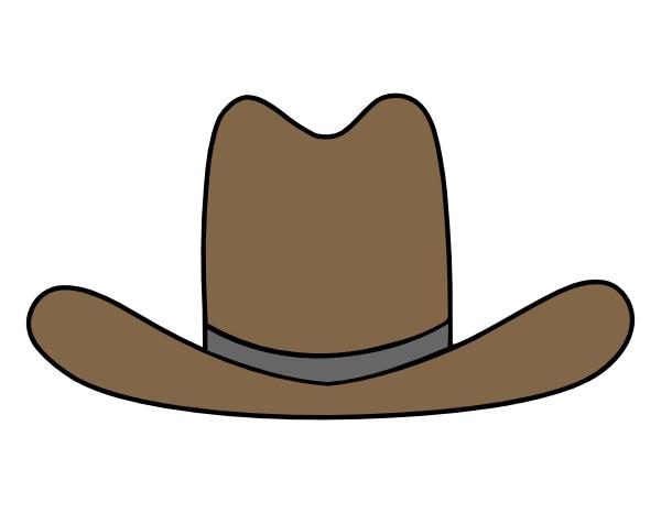 Cowboy hat stencil cowboy hat clipart clipart clipart