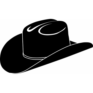 Cowboy hat vector clip art free clipart images