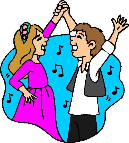 Dancing clip art 3