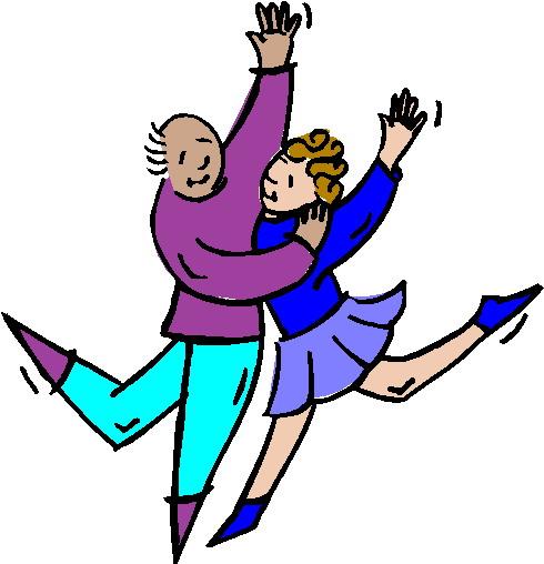 Dancing clip art 7