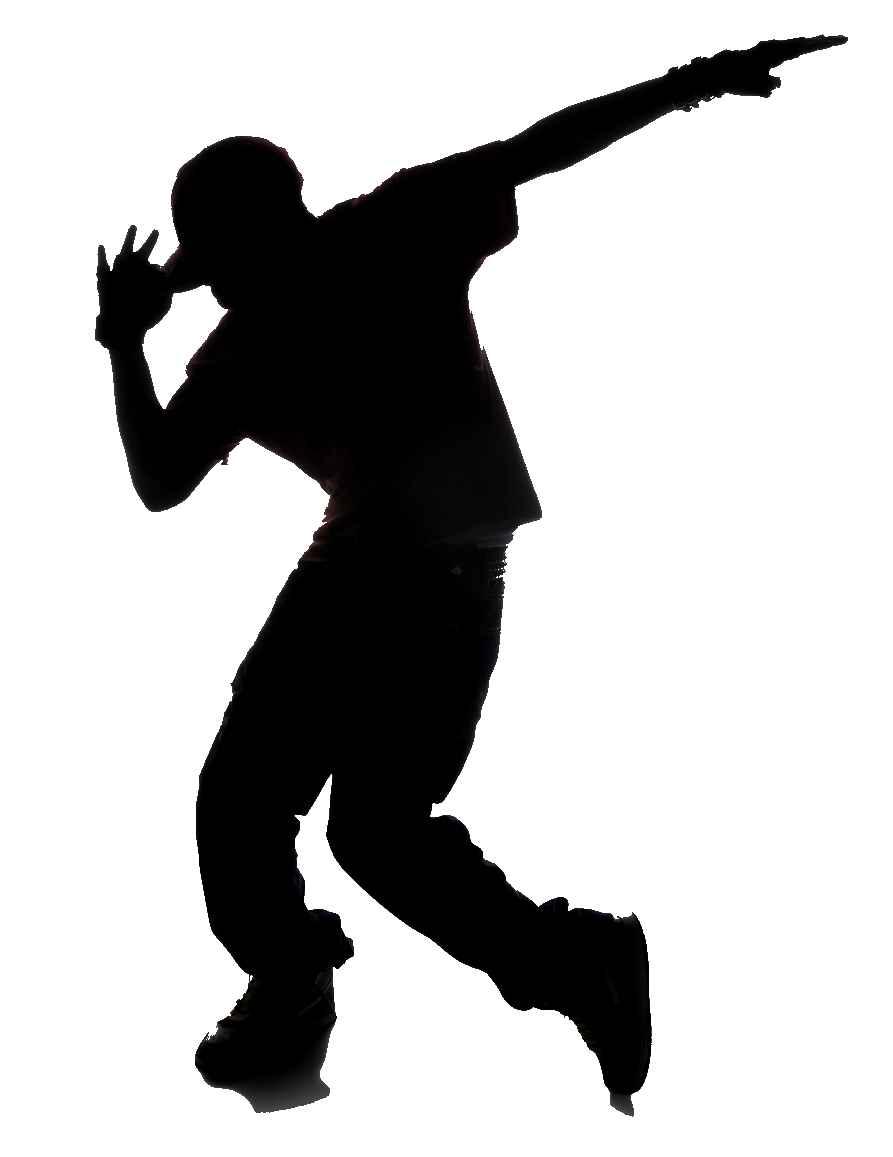 Dancing hip hop dancer clipart free clipart images