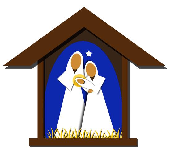 Nativity clip art free clipart